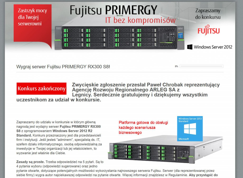 fujistsu-serwer